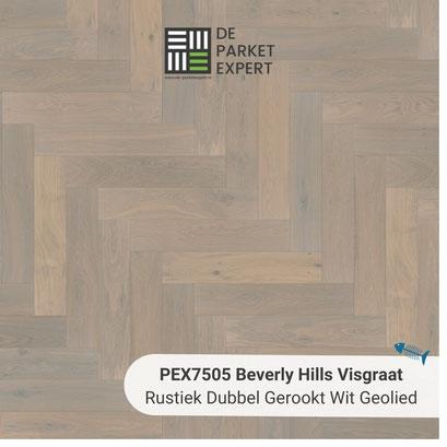 PEX7505 Beverly Hills Rustiek Dubbel Gerookt Wit Geolied