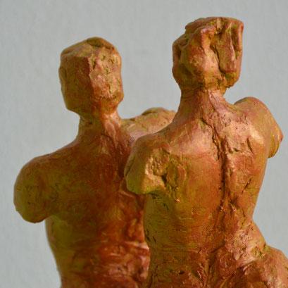 Dans - acrylic one - 28 x 22 x 16 cm