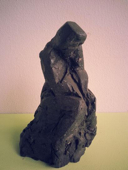 Klein Mannetje - granito - 19 x 12 x 13 cm
