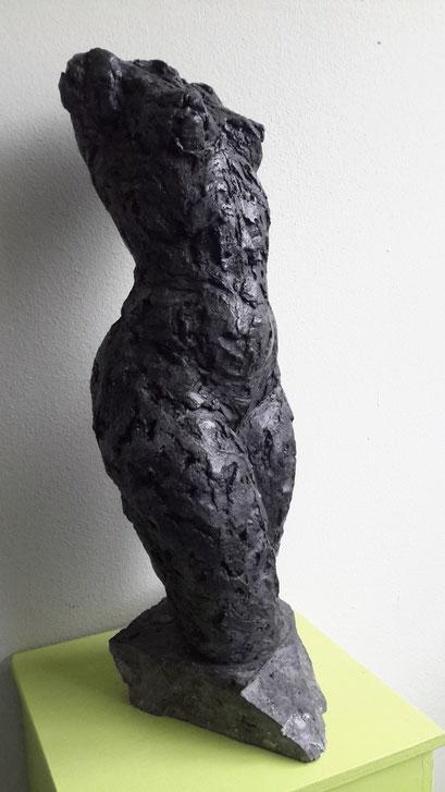 Sophie - aluminiumcement - 55 x 24 x 15 cm