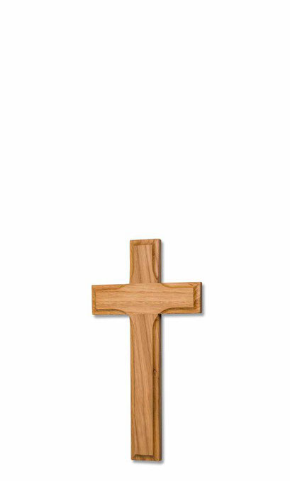 Holzkreuz Eiche gekehlt natur Artikel Nr. 613