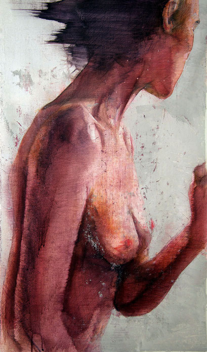 SOLD - acrylic on canvas 40x68cm