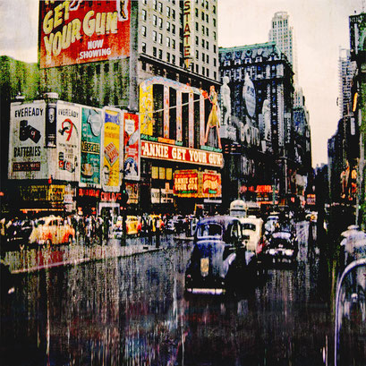"AVAILABLE  contact me: info@dariomoschetta.com - ""New York 103"" Acrylic on canvas 53x58cm"