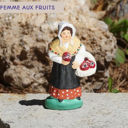 femme aux fruits