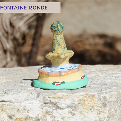 fontaine ronde