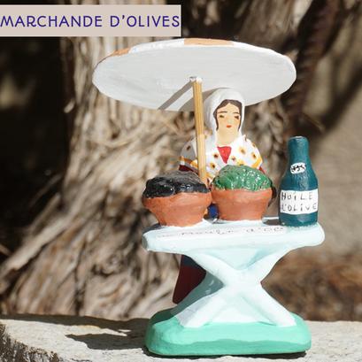 marchande d'olives