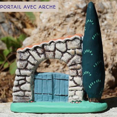 portail avec arche