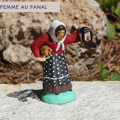 femme au fanal