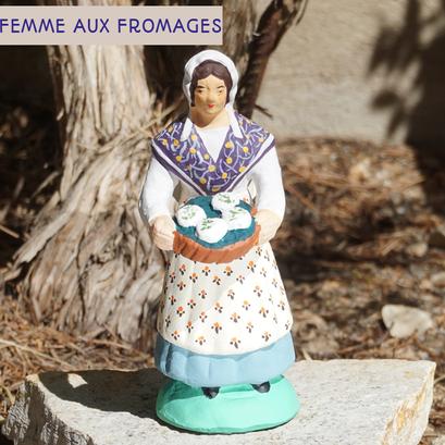 femme aux fromages