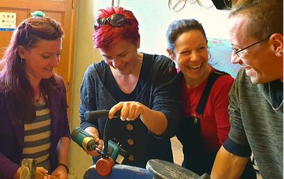 """Atelier déco """"Avec presque rien"""", Sciez, thonon, leman, chablais, recyclage, convivial"""