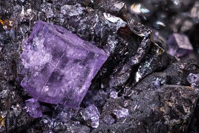 Fluorit, Mine La Collada Asturias (E)