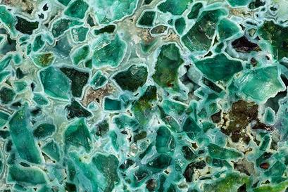Fluorit, St. Pierre StMarie aux Mines, Sammlung und Foto: Roland Kleinander, Staufen (D)