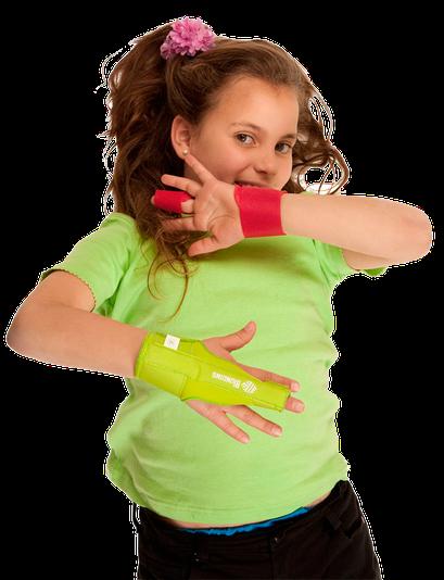 Inmovilizador dedo infantil