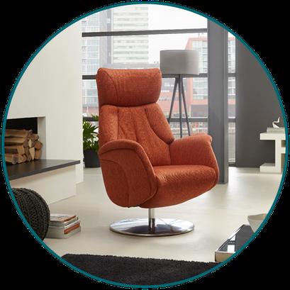 Relaxfauteuil (sta-op stoel) TW-063