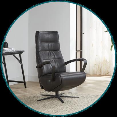Relaxfauteuil (sta-op stoel) TW-153