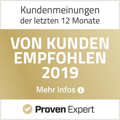 Hypnosecoaching Christian Schmidt - Von Kunden empfohlen 2019