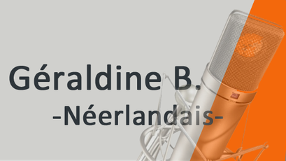 Géraldine B. Néerlandais