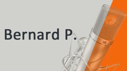 Bernard P. Voix off