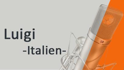 Luigi  - voix off Italienne