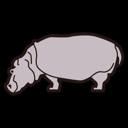#hippopotamus #かば