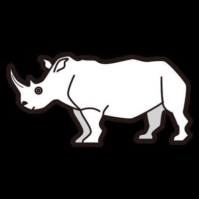 #rhino #犀 さい