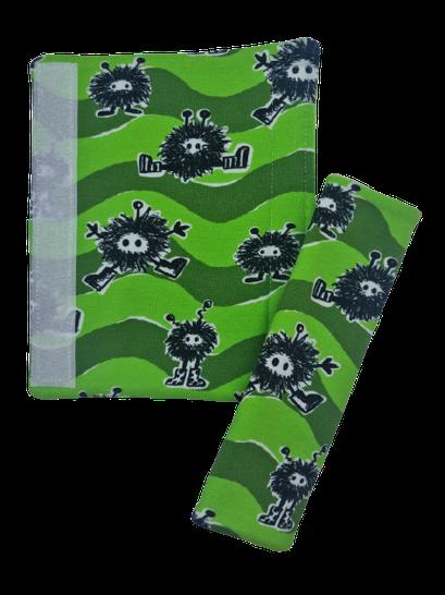 J Monster grün  (1x vorhanden) - Schultern