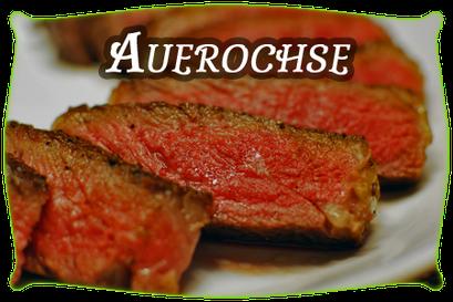 Auerochsen-Fleisch