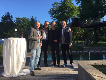 Agua Nova - Poolsplace - mit Thomas Albiez, Uli Helmke, Winfried Speeter, Axel Grunewald