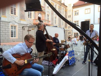 Kinonacht Ettlingen 2016 - Frank Hennrich Gitarre - Agua Nova