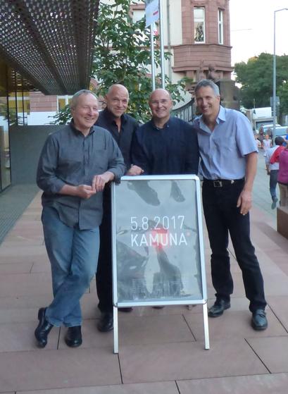 Agua-Nova mit Thomas Albiez, Michael Eiermann, Winfried Speeter und Axel Grunewald auf der KAMUNA 2017