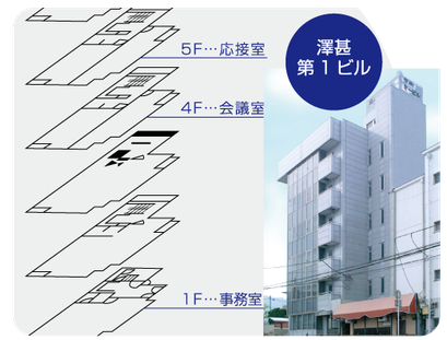 澤甚第一ビル(1階受付)