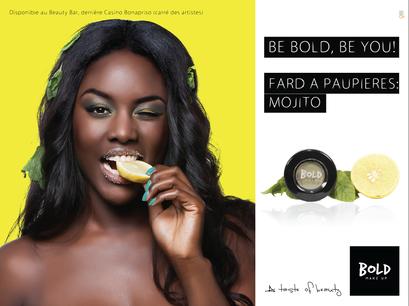 Campagne Affichage Bold Make-Up 2015