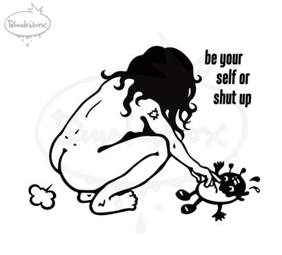 pupsigirl, arbeitsbegleitende gedankenskizze, copyright chantal labinski  2013