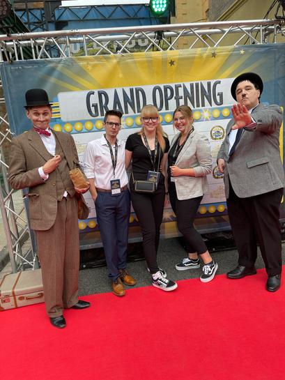 movie park studio tour grand opening eröffnung mscoaster freizeitpark journey