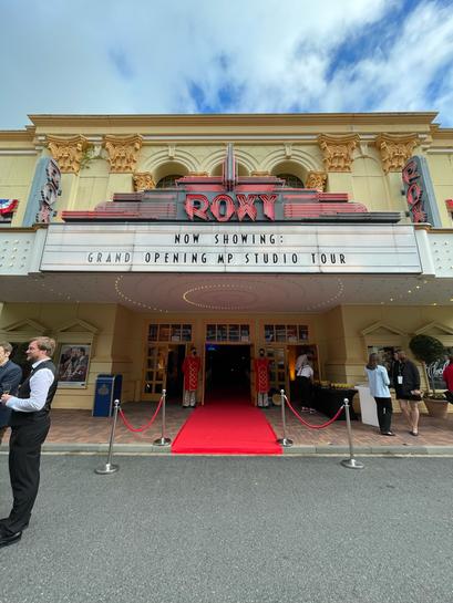 movie park germany roxy 4d kino grand opening movie park studios