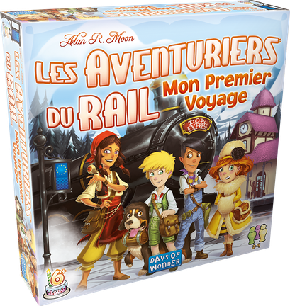 Les aventuriers du rail junior - Europe