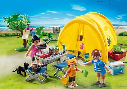 Playmobil : la tente de camping