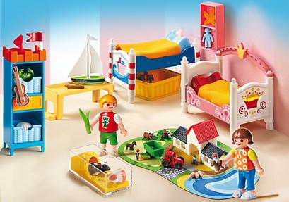 Playmobil : la chambre des enfants