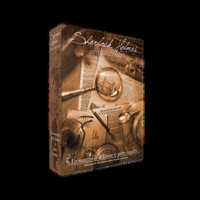 Sherlock Holmes Detective Conseil : les meurtres de la Tamise et autres enquêtes