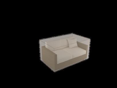 ©Nortene, housse de protection pour moblier - Canapé 2 places