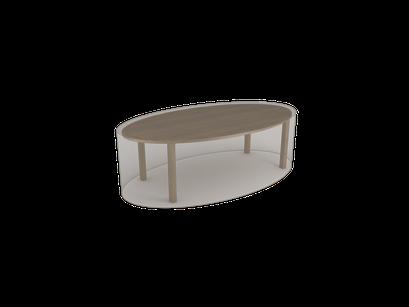 ©Nortene, housse de protection pour moblier - Table ovale