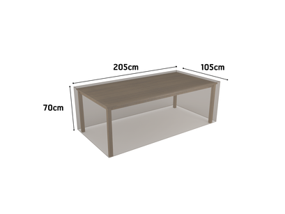 ©Nortene, housse de protection pour moblier - Table rectangle
