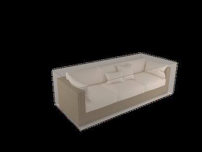 ©Nortene, housse de protection pour moblier - Canapé 3 places