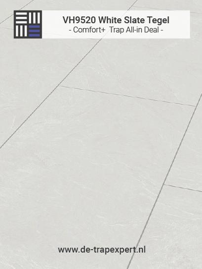 VH9520 White Slate tegellaminaat