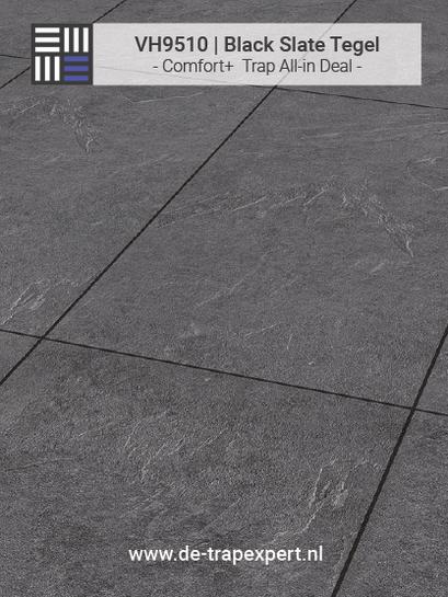 VH9510 Black Slate tegellaminaat