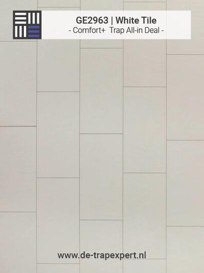 GE2963 White Tile Laminaat