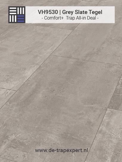 VH9530 Grey Slate tegellaminaat