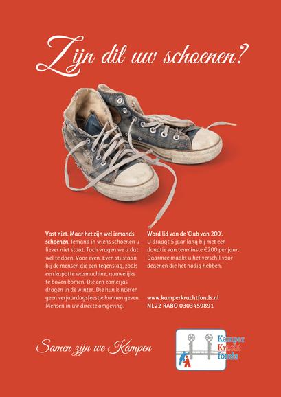 Kamper Kracht fonds, poster en flyer