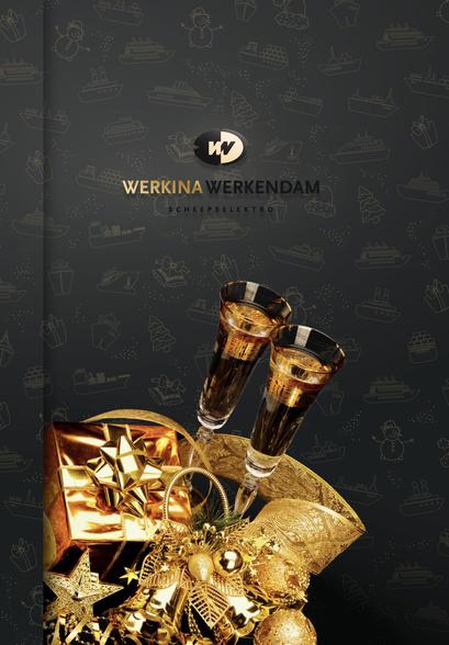Werkina Wekendam, kerstkaart 2016