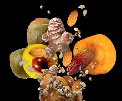 Geschmacksrichtung Samen Nüsse Früchte